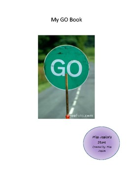"INTERACTIVE AND ADAPTIVE ""GO"" CORE VOCABULARY BOOK"