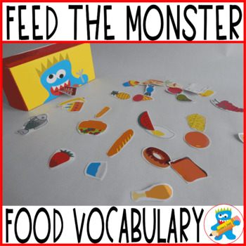"""Fun game """"The Monster wants to eat"""""""