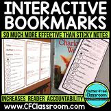 Reader Response INTERACTIVE BOOKMARKS Annotation Annotating Texts, Close Reading