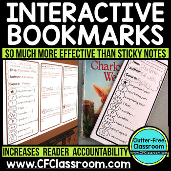 Reader Response INTERACTIVE BOOKMARKS Annotation Annotatin
