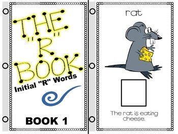 "SPEECH THERAPY INTERACTIVE BOOKS for ARTICULATION of ""R & VOCALIC ""R"""