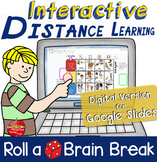INTERACTIVE Brain Breaks for Google Slides™️ Distance-learning