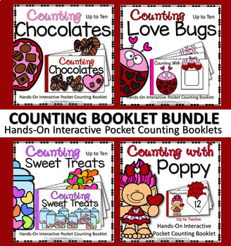 INTERACTIVE COUNTING (4) BOOKLET BUNDLE