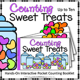INTERACTIVE COUNTING BOOKLET : COUNTING SWEET TREATS