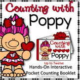 INTERACTIVE COUNTING BOOKLET : COUNTING WITH POPPY THE TROLL