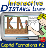 INTERACTIVE Capital Formations #2 Lines & Curves: Distance