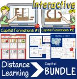 INTERACTIVE Capital Handwriting Bundle: Distance Learning,