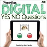 INTERACTIVE Digital Yes/No Questions {NO Prep}