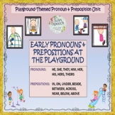INTERACTIVE EARLY PRONOUNS & PREPOSITIONS AT THE PLAYGROUND