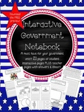 INTERACTIVE GOVERNMENT STUDENT NOTEBOOK *A MUST HAVE FOR Y