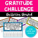 INTERACTIVE Gratitude Bulletin Board - Character Education