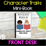 INTERACTIVE MINI-BOOK - Character Traits Analysis -Front D