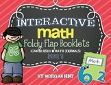 INTERACTIVE Math Foldy Flap Booklets: Part 1 {can be used in math journals}