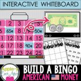 INTERACTIVE Money Build A Bingo American Version - NO PREP