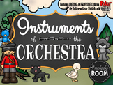 INTERACTIVE NOTEBOOK: Instruments of the Orchestra
