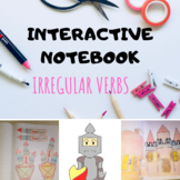 Interactive Notebook - Past Tense ( Regular and Irregular Verbs )