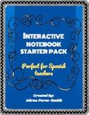 Interactive  Notebook STARTER  PACK for Spanish Teachers