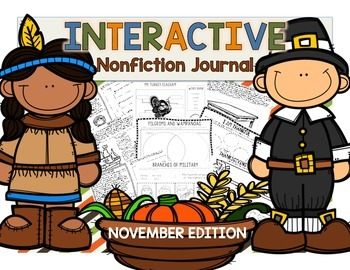 INTERACTIVE Nonfiction Journal--Science and Social Studies--November Edition