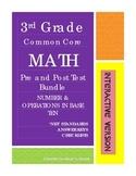 INTERACTIVE PDF - 3rd Grade Math CCSS NBT Assessments