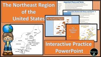 INTERACTIVE POWERPOINT NORTHEAST Region of the U.S. Vocabu