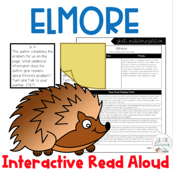 INTERACTIVE READ ALOUD Lesson Plan - Skill: Problem/Solution - Elmore