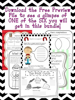 INTERACTIVE SCIENCE NOTEBOOK MEGA PACK- All my best selling NB's for a DISCOUNT!