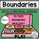 INTERACTIVE SEL Sequential Curriculum LP#5: Boundaries & Limitations, Grades 2-3