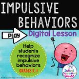 INTERACTIVE SEL Sequential Curriculum LP#7: Impulse Control, Grades K-1