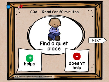 INTERACTIVE SEL Sequential LP#11: Goal Setting Helps Me Be My Best, Grades K-1