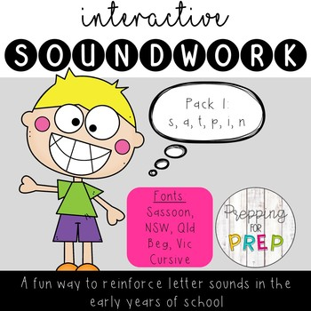 INTERACTIVE SOUNDWORK PACK 1 (s, a, t, p, i, n)