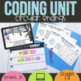 Unplugged Coding & Digital Storytelling with Scratch Jr Winter Theme