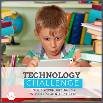 TECHNOLOGY CHALLENGE INTERACTIVE STORYTELLING AND CODING FREEBIE