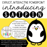 INTERACTIVE SYNTHETIC PHONICS PACK 1 SATPIN