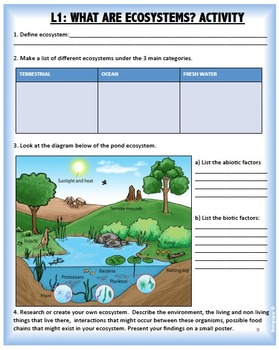 INTERDEPENDENT RELATIONSHIPS IN ECOSYSTEMS, NGSS MS-LS2.A