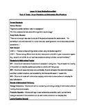 INTERDISCIPLINARY LESSON - MATH CONVERSIONS AND THE ENVIRONMENT