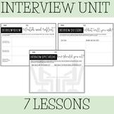 Interview Unit - 7 lessons