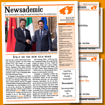 INTERNATIONAL CURRENT AFFAIRS - Italy on the new Silk Road
