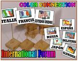 A~SPANISH~A~INTERNATIONAL FORUM~pronouns verbs vocabulary