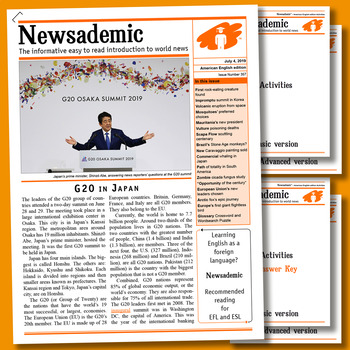 INTERNATIONAL NEWS EXPLAINED - G20 in Japan
