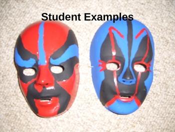 INTERNATIONAL STUDIES: Chinese Opera Masks