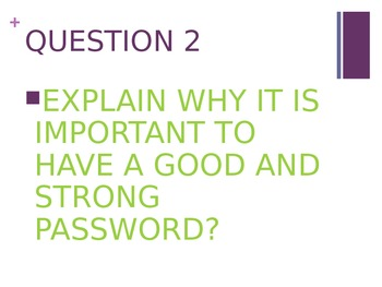INTERNET SAFETY POWERPOINT ACTIVITY AND DISCUSSION