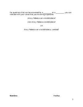 EDITABLE INTERROGATIVES NOTES WKST Spanish I Realidades 4 question words w/ key