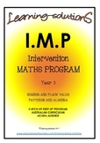 INTERVENTION MATHS PROGRAM BUNDLE - IMP Year 3 - Aust - AC