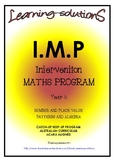INTERVENTION MATHS PROGRAM - IMP Year 5 - ACARA Aligned - ANSWERS Included