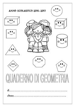 INTESTAZIONE QUADERNO GEOMETRIA CLASSE SECONDA