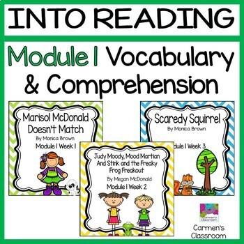Grade 3 INTO READING Module 1 Vocabulary and Comprehension BUNDLE
