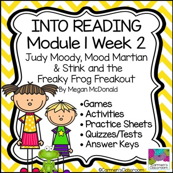 Grade 3 INTO READING Module 1 Week 2 Judy and Stink Vocabulary & Comprehension
