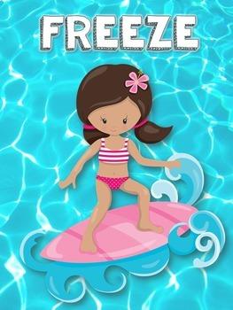 Brain Breaks - Summer Freeze Dance