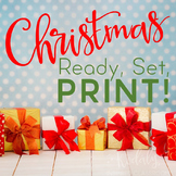 Music Worksheets for Christmas {Ready Set Print}