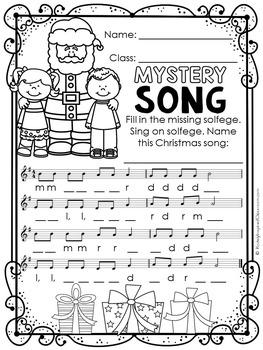 Christmas Music Activities – Fun for Christmas
